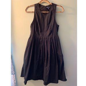 Gap little black cotton dress